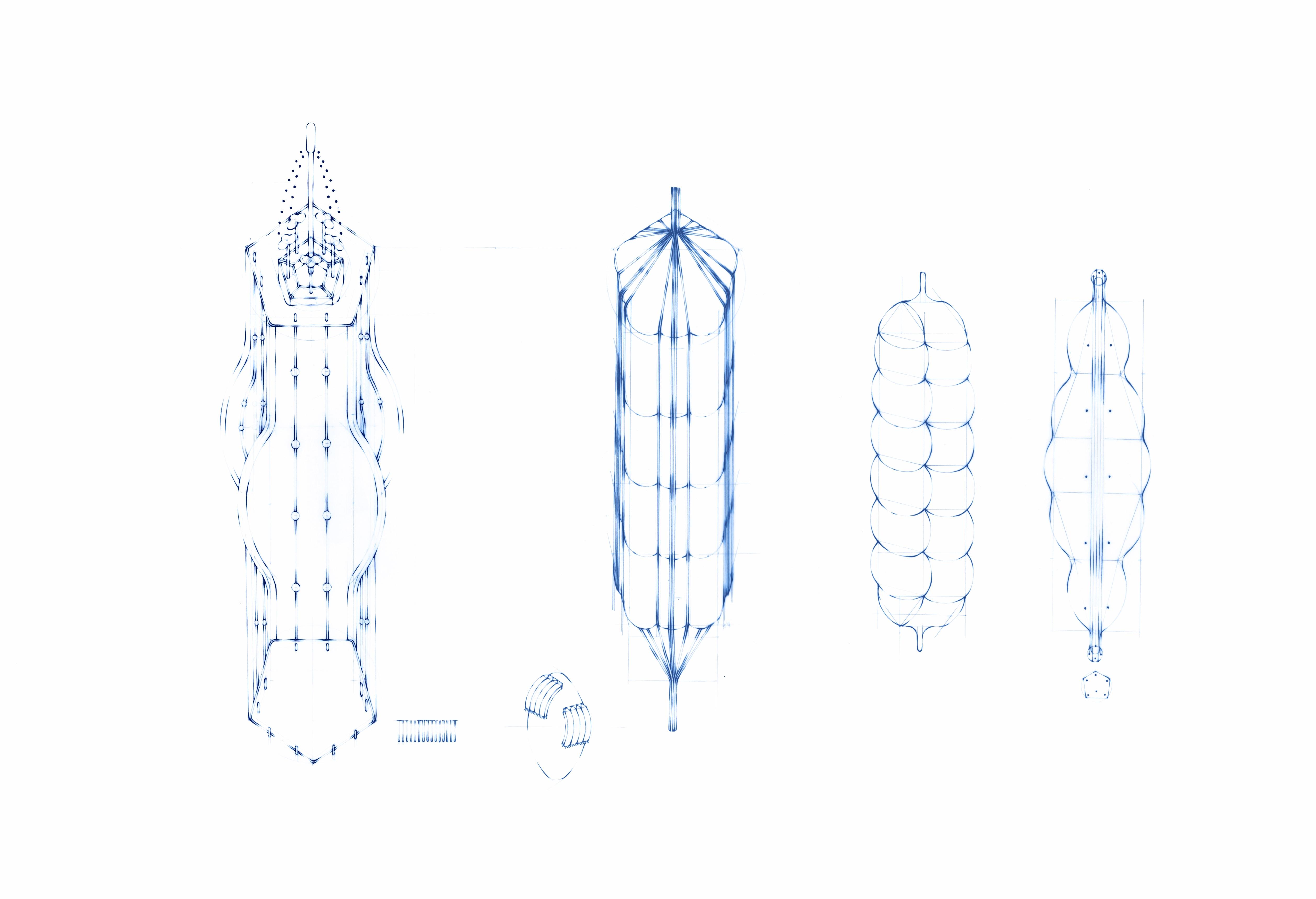 バナナ/遠い、近い、構造(29)、女 no.1~15